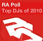 Resident Advisor Top 100 DJ poll