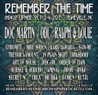Remember The Time Festival Oct 2-4, 2015 Asheville, NC