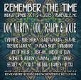 Remember The Time Asheville, NC Oct 2-4 2-15 Doc Martin & Odi