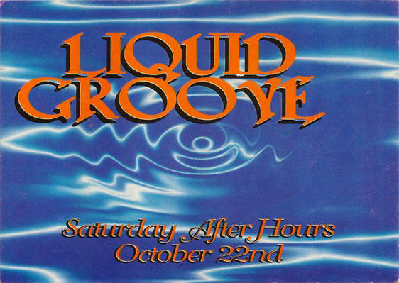 liquid groove About