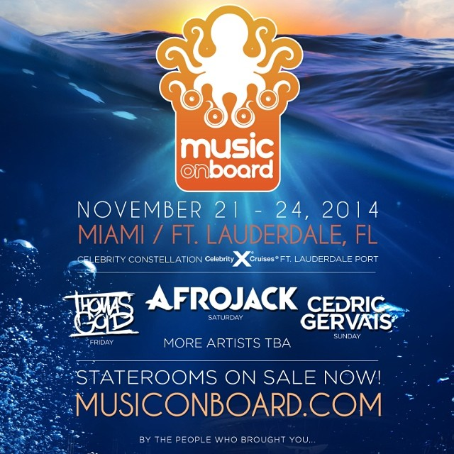 music on board usa 2014 tickets EDM Event TIckets