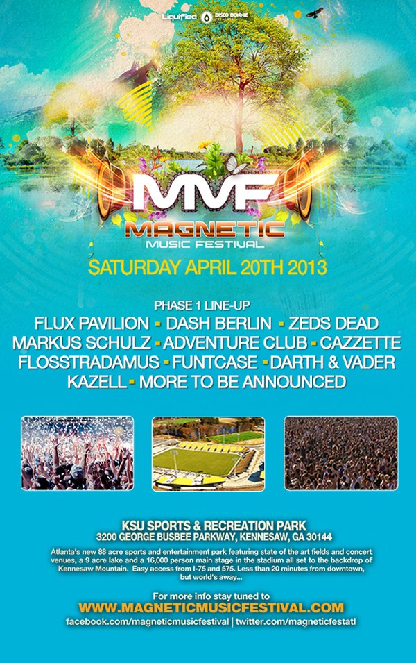 magnetic phase 1 Magnetic Music Festival Lineup Phase 1