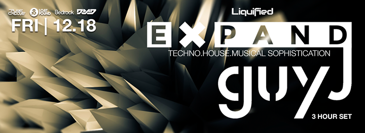 Expand Guy J Dec 18 2015 Atlanta house music atlanta techno