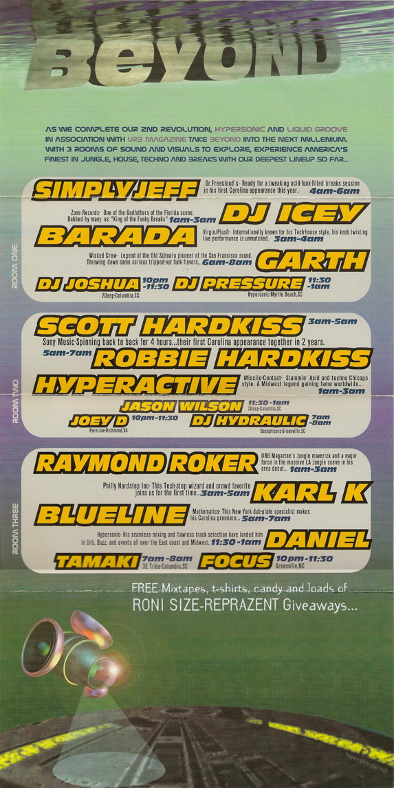 Flyer Archive | Beyond EDM-Home of Beyond Events
